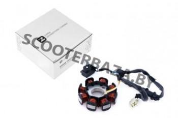 Статор генератора   Honda DIO ZX   (8 катушек)  хонда дио 34/35 постоянного тока